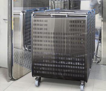 Chariot autoclave de Wb-e pour Sanofi Pasteur