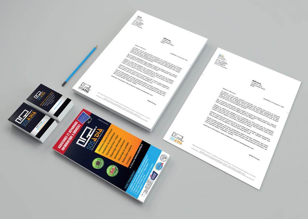 CRENOW Design - SOS ADIA - Charte graphique