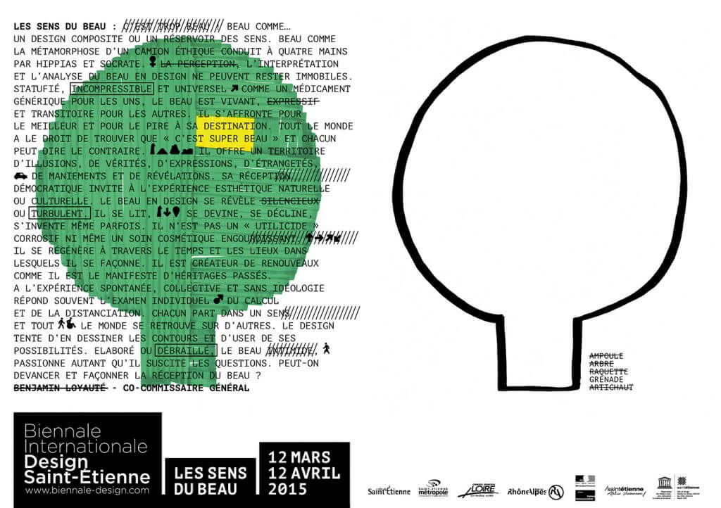 Biennale de Design - Saint-Étienne 2015