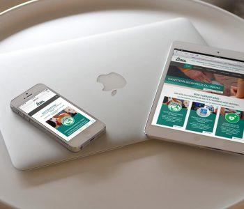 Site Internet responsive design de PREV Formations